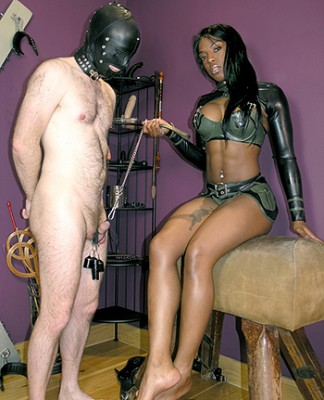 Ebony CBT Mistress