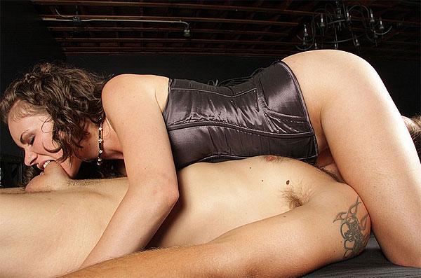 Goddess Starli Cock Biting